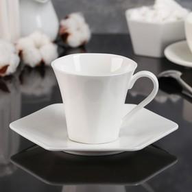 """Чайная пара 200 мл """"Аллегро"""", блюдце 17 см"""
