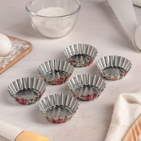 "A set of forms for baking ""Bud. The rosary"", 6 PCs"