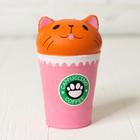 """Мялка-антистресс """"Кошка в кофе"""" маленькая"""