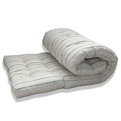 Mattress cotton 80х190 cm, teak (CL 50%, PE 50%)