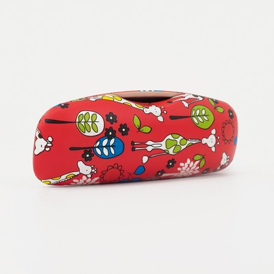 Glasses case, division of the flap, MIX