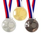Медаль под нанесение 070 серебро