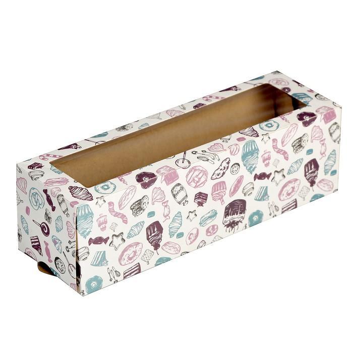Упаковка для макарони, 18 х 5,5 х 5,5 см