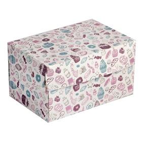 Упаковка для продуктов, 15 х 10 х 8,5 см