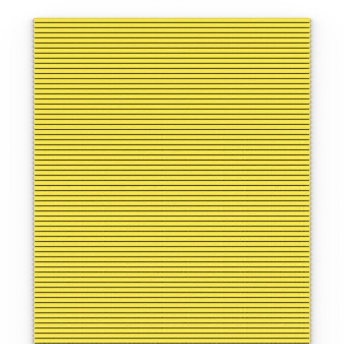 Коврик Flexy Giallo, 65 см, жёлтый