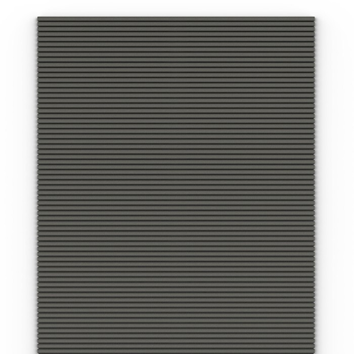 Коврик Flexy Grigio, 65 см, серый