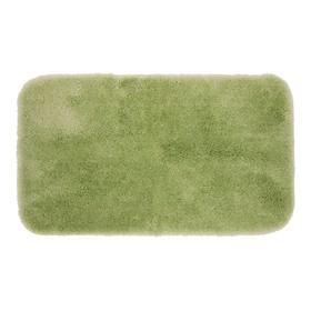 Коврик для ванной комнаты, 60х102 см, Plush, светло-зеленый