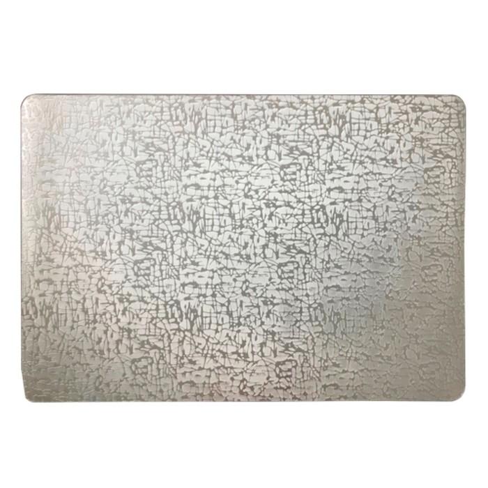 Салфетка «Абстракция», серебро, 30 х 40 см
