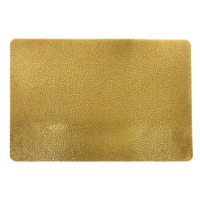 Салфетка «Капли», золото, 30 х 40 см