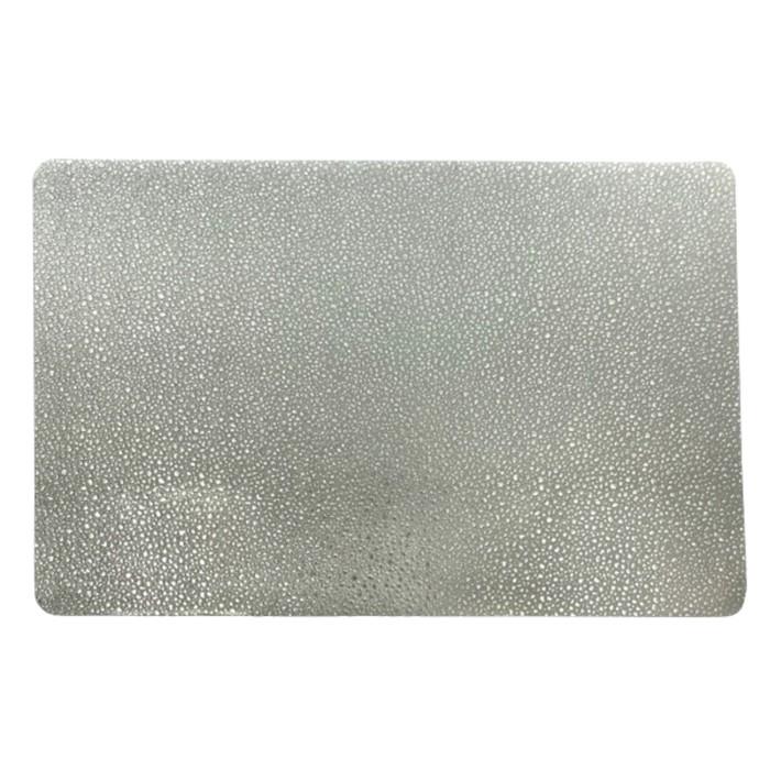 Салфетка «Капли», серебро, 30 х 40 см