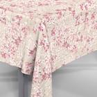 Скатерть Loneta Амарена 30622/3201 круг 160 см, розовая