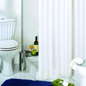 Штора для ванной комнаты Rigone, 240 х 200 см, белая