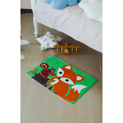 "Bath Mat ""True friends squirrel"""