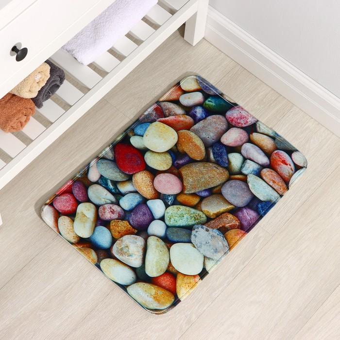 Коврик Доляна «Камни», 40×60 см - фото 7929915