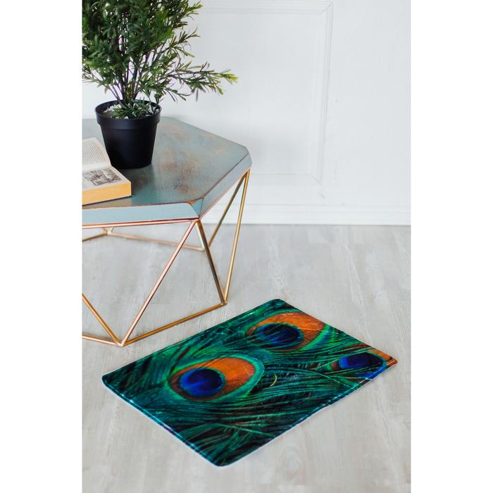Коврик «Павлин», 40×60 см