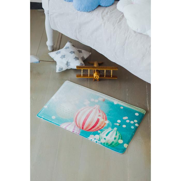 Коврик «Воздушные шары», 40×60 см