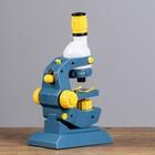 """Микроскоп """"Наука"""", кратность увеличения 1200х, 400х, 100х, с подсветкой - фото 106523683"""