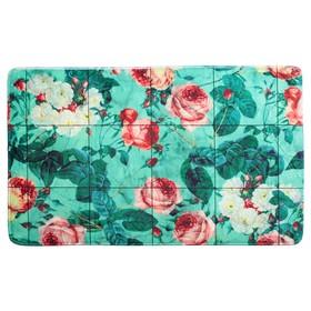 Коврик «Коллаж розы», 45×75 см