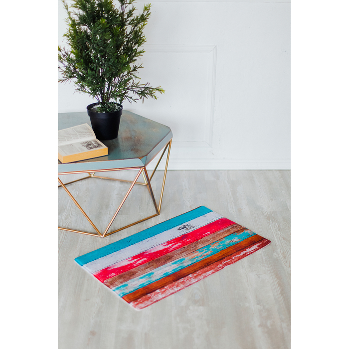 Коврик для дома «Цветочное дерево», 45×75 см