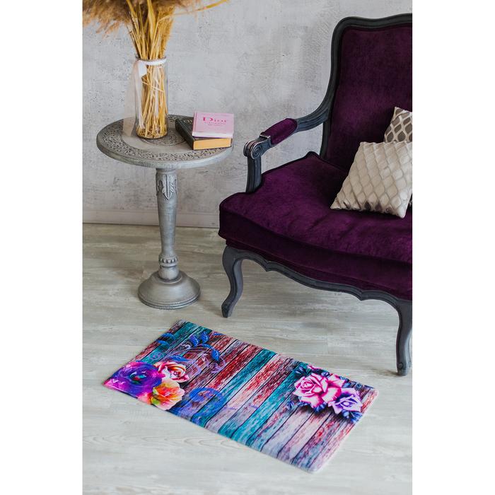 Коврик «Доска розы», 45×75 см