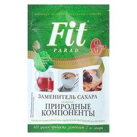 ФитПарад № 7, Заменитель сахара, 400 г (дойпак)