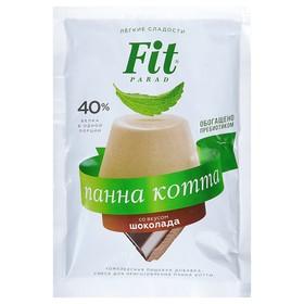"""Fitparad Смесь для панна котты """"Шоколад"""" 50 г (пакет-саше)"""