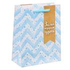 Пакет ламинированный вертикальный «Зима подарит чудеса», 12 × 15 × 5,5 см