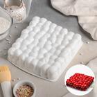 Форма для муссовых десертов и выпечки «Пузыри», 18,5×4,5 см, цвет белый - фото 308045903