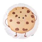 "Подушка ""Крошка Я"" Печенька 44х44 см, велюр, 100% п/э"