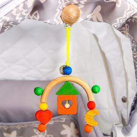 Подвеска для коляски «Мини-мобиль Домик» S-Mala
