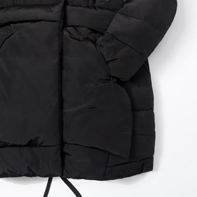 """Куртка для девочки """"Зима"""", рост 140-146 см, цвет чёрный"""