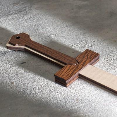 """Сувенирное оружие """"Меч"""", 44х7,5 см"""