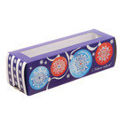 Коробочка для макарун «С Новым годом», 18 × 5,5 × 5,5 см