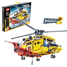 Конструктор техникс «Спасательный вертолёт», 1056 деталей