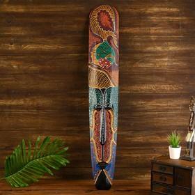 "Маска дерево ""Абориген рыбка"" 3х17х100 см"