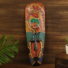 "Маска дерево ""Абориген рыбка"" 3х12х50 см"
