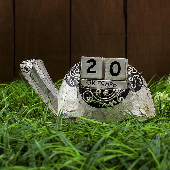 """Настольный календарь """"Черепашка"""" 16х9х7 см - фото 366923053"""