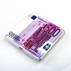 "Case of ""five Hundred euros"", 9x9 cm"