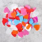 """Наполнитель для шара """"Конфетти сердца"""" 2,4 см, бумага, МИКС, 500г"""