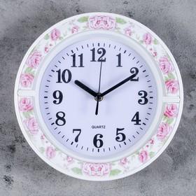 """Часы настенные, серия: Классика, """"Джуди"""", 26х26 см, дискретный ход в Донецке"""