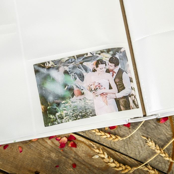 """Фотоальбом на 700 фото 10х15 см """"Белая сакура"""" в коробке 36,6х33,8х6,5 см"""
