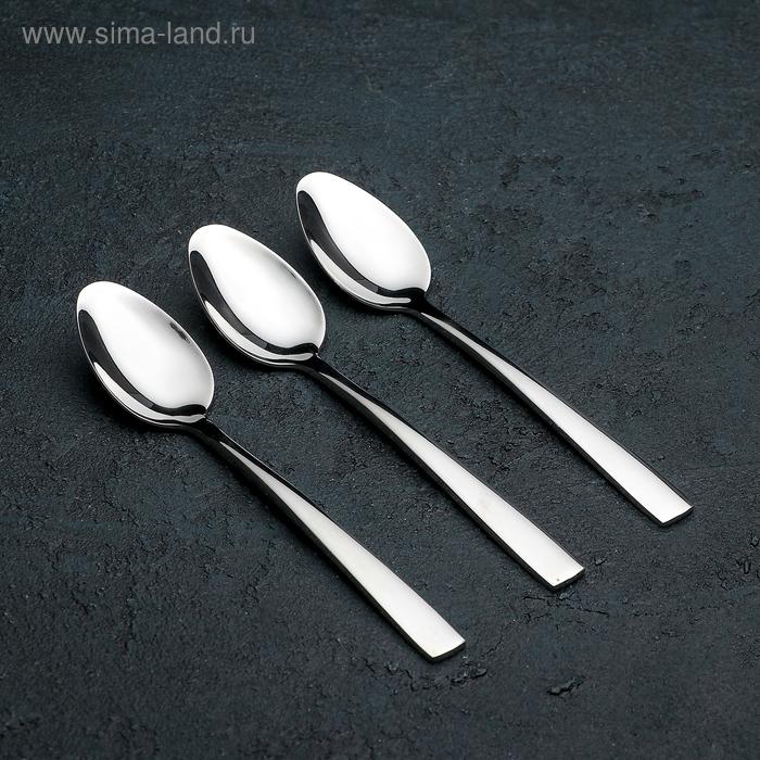 """Set of tea spoons 15cm """"Maya"""", 3 PCs"""