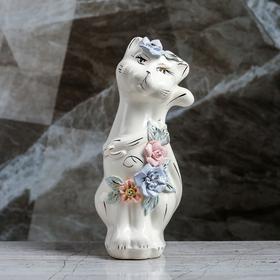 """Копилка """"Кошка Тома"""", покрытие лак, белая, 22 см"""