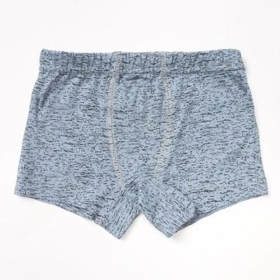 Трусы для мальчиков, цвет серый, 104-110 см (30)