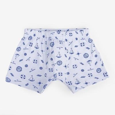 Трусы для мальчиков, цвет голубой, 110-116 см (32)