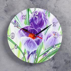 """Часы настенные, серия: Цветы, """"Волшебство"""", 24 см , стрелки микс"""