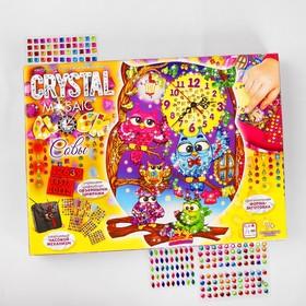 """Набор креативного творчества """"Настольные часы своими руками"""" серии Crystal Mosaic Clock CMC-   38512"""