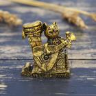 """Фигурка мышка """"Тепла и уюта"""", золото, 3,9 х 3,8 см"""