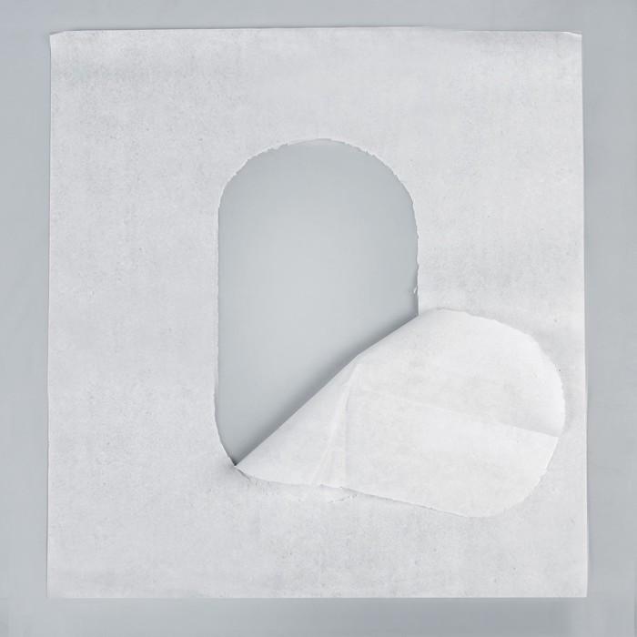 Туалетное покрытие на унитаз 1/4 сложение, 100 листов, для держателя MERIDA, ASTER, LIME mini, Ksitex