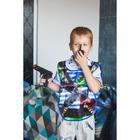 Игровой набор для мальчиков «ВДВ» (жилет,самол, пист,3 пули, нож, граната, рация), 38 х 32 см - фото 105576539